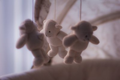 Baby Toys Hanging from Mobile