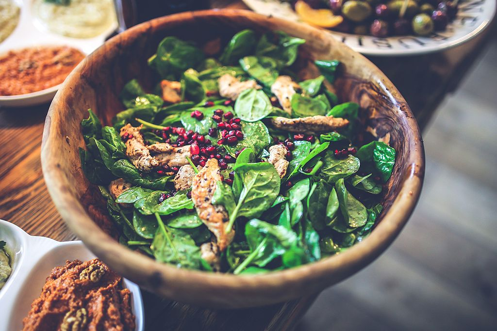 Salad Exemplifies a Lifetime of Healthy Eating