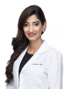 Dr. Jeelani, Reproductive Endocrinologist, headshot