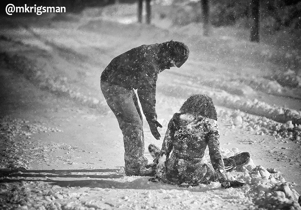 Michael Krigsman: An act of kindness in the blizzard